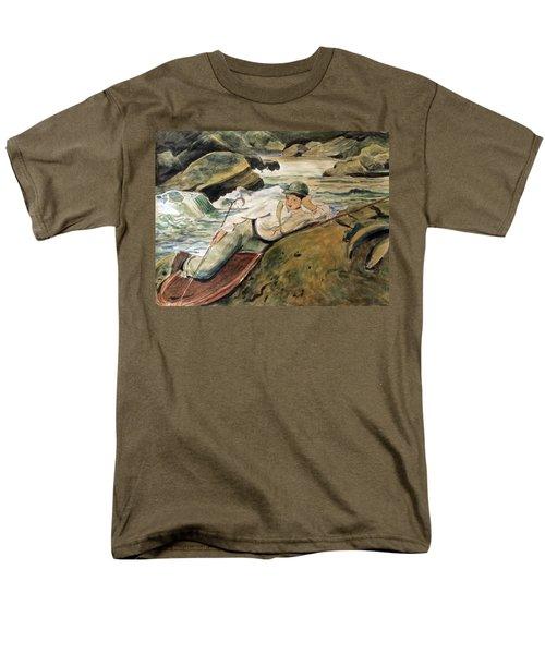 After Sargent Men's T-Shirt  (Regular Fit) by Nancy Kane Chapman