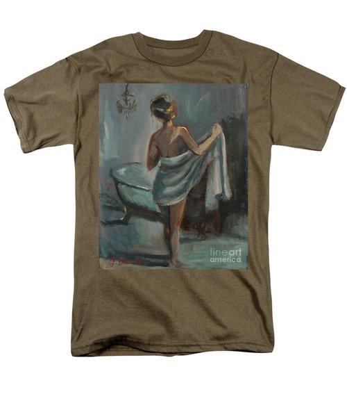 After The Bath Men's T-Shirt  (Regular Fit) by Jennifer Beaudet
