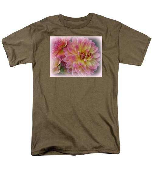 After The Rain - Dahlias Men's T-Shirt  (Regular Fit)