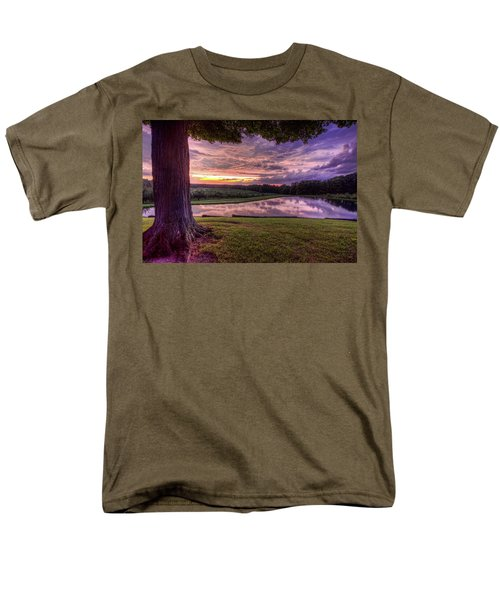 Men's T-Shirt  (Regular Fit) featuring the photograph After The Storm At Mapleside Farms by Brent Durken