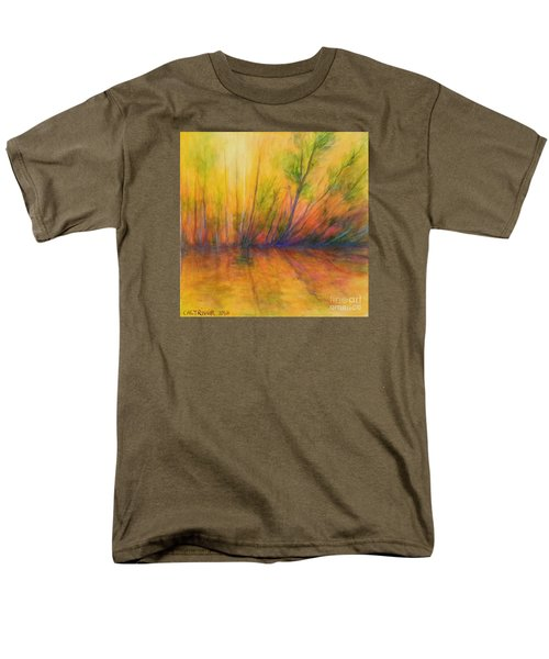 Afternoon Glow  Men's T-Shirt  (Regular Fit) by Alison Caltrider