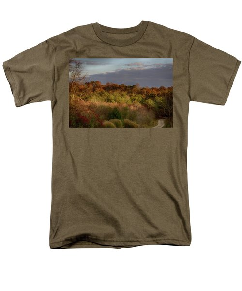 Men's T-Shirt  (Regular Fit) featuring the photograph Afternoon Glow In Hocking Hills by Haren Images- Kriss Haren