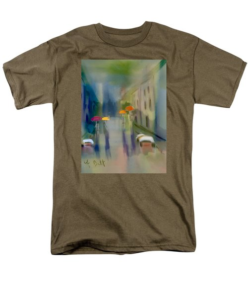 Afternoon Shower In Old San Juan Men's T-Shirt  (Regular Fit) by Frank Bright
