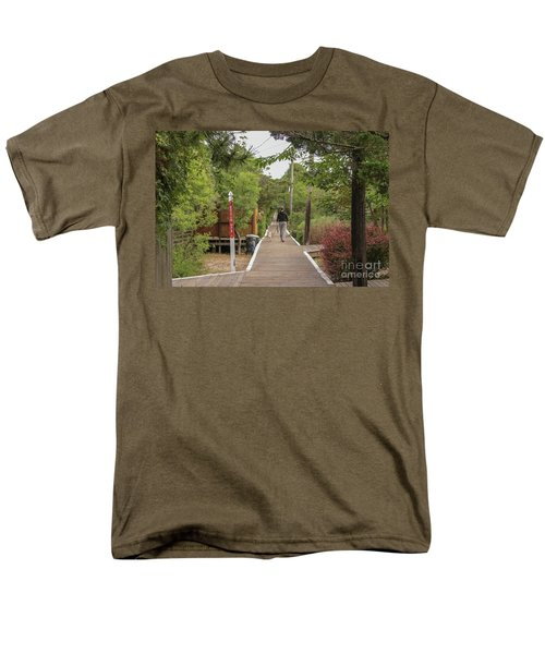 Afternoon Stroll Men's T-Shirt  (Regular Fit)
