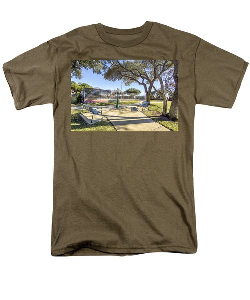 Afternoon Tennis Men's T-Shirt  (Regular Fit) by Ricky Dean