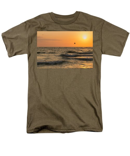 Against The Wind Men's T-Shirt  (Regular Fit) by Christopher L Thomley