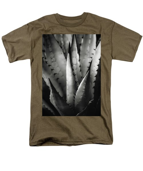 Men's T-Shirt  (Regular Fit) featuring the photograph Agave And Patterns by Eduard Moldoveanu