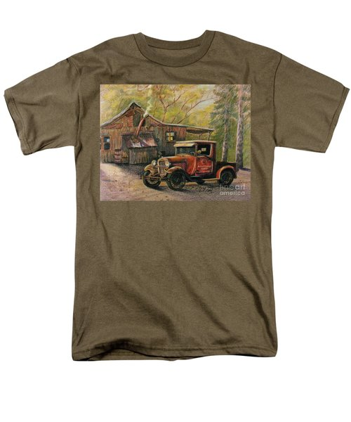 Agent's Visit Men's T-Shirt  (Regular Fit) by Marilyn Smith