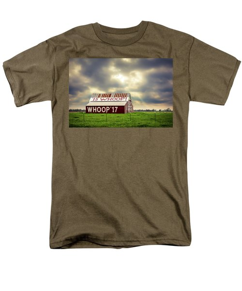 Men's T-Shirt  (Regular Fit) featuring the photograph Aggie Barn by David Morefield