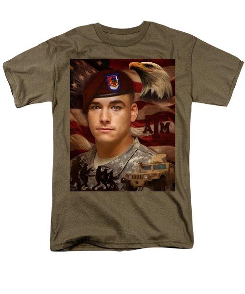 Aggie Hero For Sure Men's T-Shirt  (Regular Fit) by Ken Pridgeon