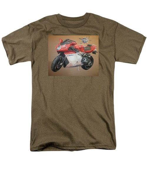 Men's T-Shirt  (Regular Fit) featuring the painting Agusta by Cherise Foster