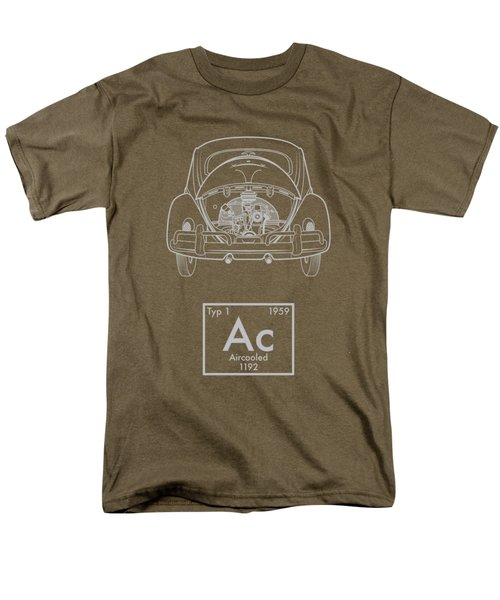 Aircooled Element - Beetle Men's T-Shirt  (Regular Fit) by Ed Jackson