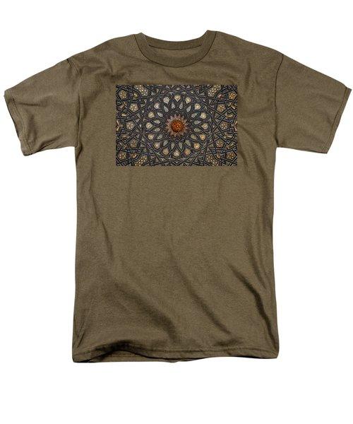 Al Ishaqi Wood Panel Men's T-Shirt  (Regular Fit)