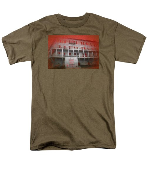 Alcatraz Federal Penitentiary Men's T-Shirt  (Regular Fit) by Michael Cleere