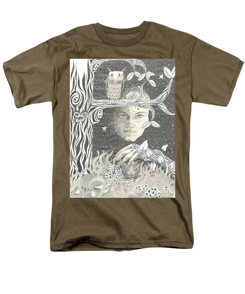 Alice Syndrome Men's T-Shirt  (Regular Fit) by Melinda Dare Benfield