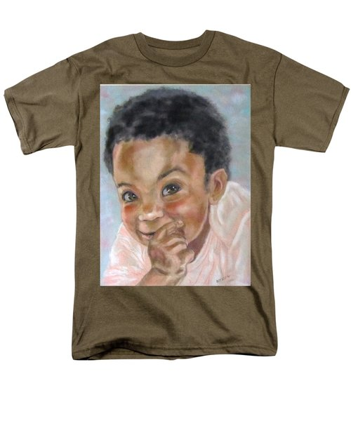 All Smiles Men's T-Shirt  (Regular Fit) by Barbara O'Toole