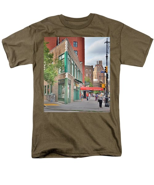 All That Jazz - Greenwich Village Vangaurd  Men's T-Shirt  (Regular Fit) by Jeffrey Friedkin