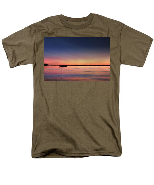 Men's T-Shirt  (Regular Fit) featuring the photograph Almost Paradise by Lori Deiter