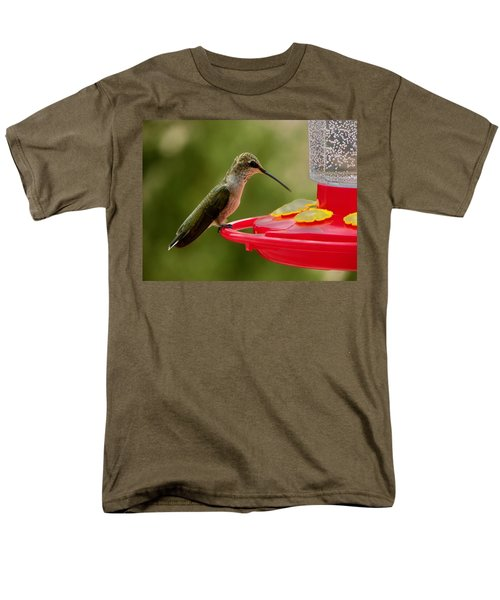 Men's T-Shirt  (Regular Fit) featuring the photograph Alone At Last by Joseph Frank Baraba