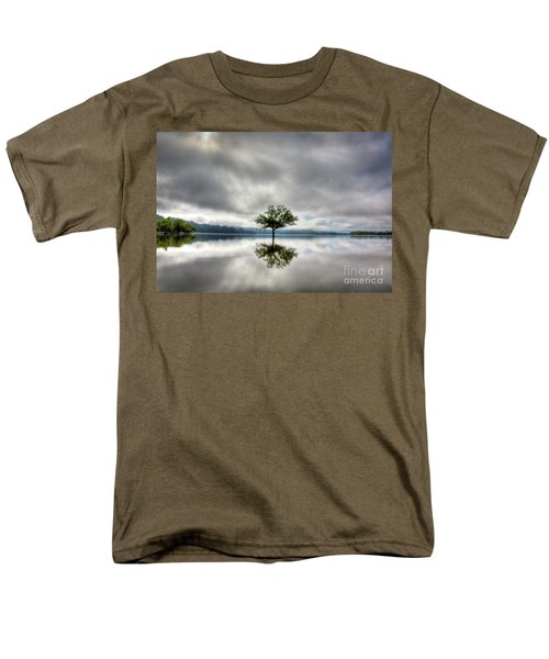 Men's T-Shirt  (Regular Fit) featuring the photograph Alone by Douglas Stucky