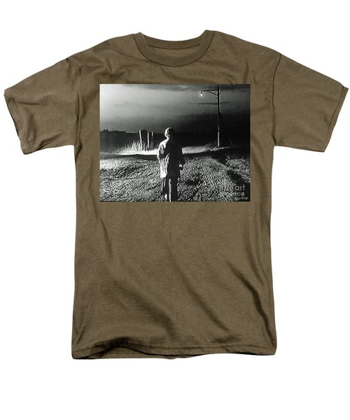 Men's T-Shirt  (Regular Fit) featuring the photograph Alone by Lyric Lucas