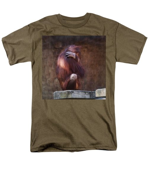 Men's T-Shirt  (Regular Fit) featuring the photograph Alone by Sharon Jones