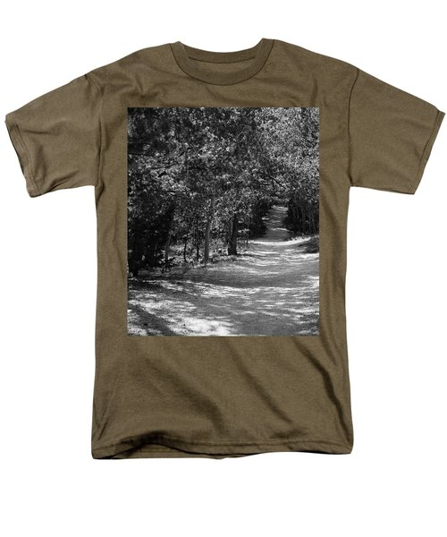 Along The Barr Trail Men's T-Shirt  (Regular Fit) by Christin Brodie