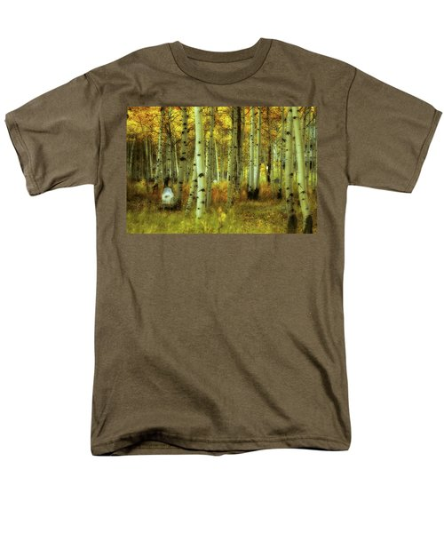 Men's T-Shirt  (Regular Fit) featuring the photograph Alvarado Autumn 1 by Marie Leslie