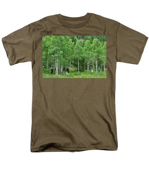 Men's T-Shirt  (Regular Fit) featuring the photograph Alvarado Summer by Marie Leslie