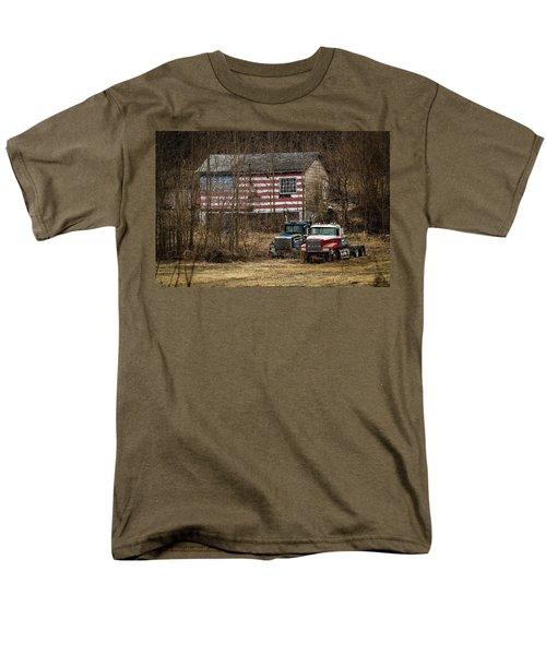 American Dream Men's T-Shirt  (Regular Fit) by Ray Congrove