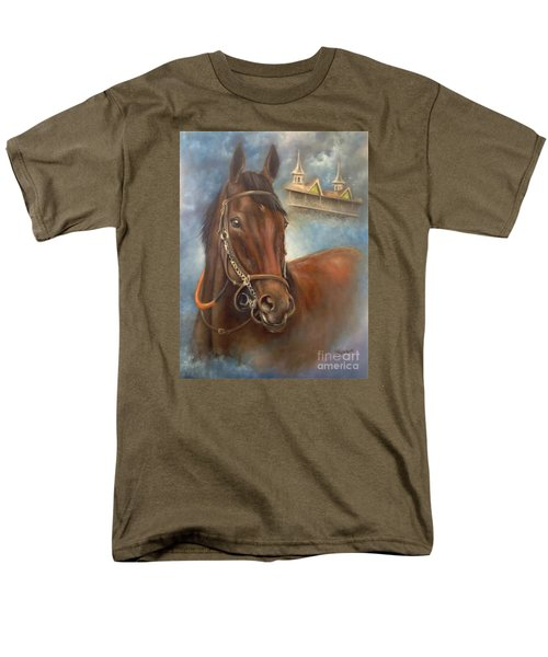 American Pharoah Men's T-Shirt  (Regular Fit) by Patrice Torrillo