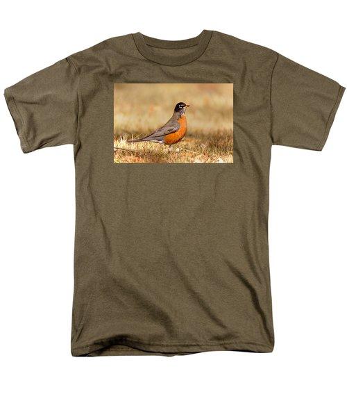 American Robin Men's T-Shirt  (Regular Fit)