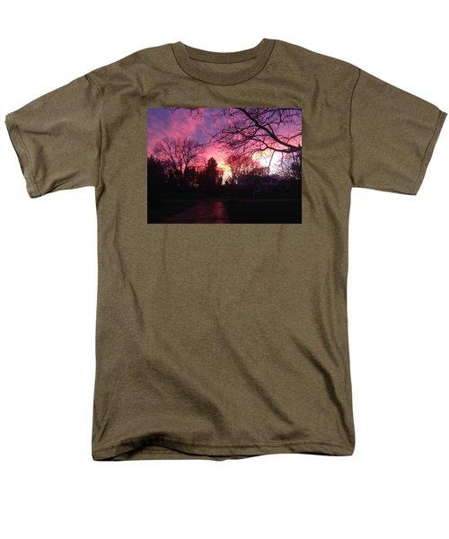 Amethyst Sunset Men's T-Shirt  (Regular Fit)