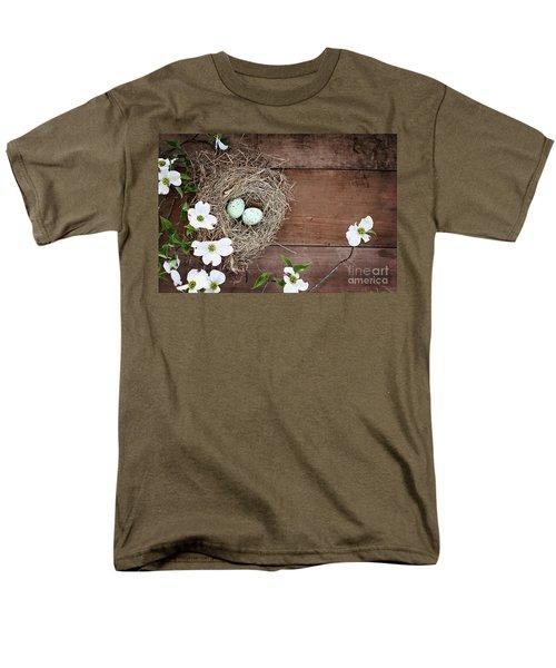 Amid The Dogwood Blossoms Men's T-Shirt  (Regular Fit)