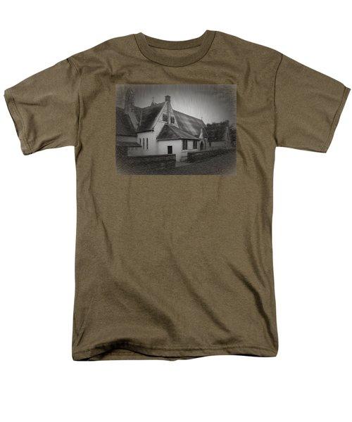 An Irish Church Men's T-Shirt  (Regular Fit) by Dave Luebbert