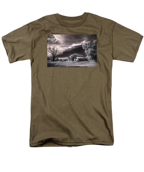 An Ivy Covered Rustic Men's T-Shirt  (Regular Fit) by William Fields