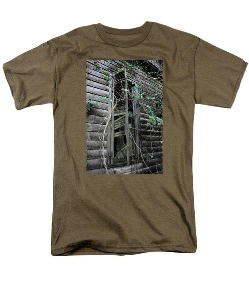 An Old Shuttered Window Men's T-Shirt  (Regular Fit) by Lynn Jordan
