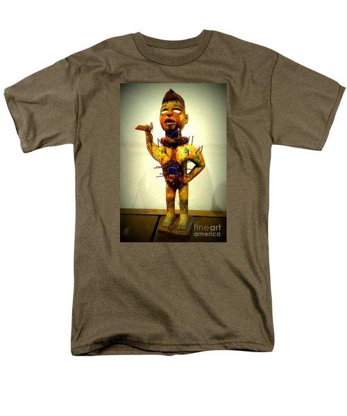 Ancient African Arifact Men's T-Shirt  (Regular Fit) by John Potts