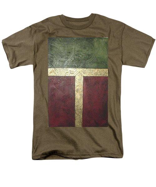 Ancient Hieroglyphics Men's T-Shirt  (Regular Fit) by Bernard Goodman