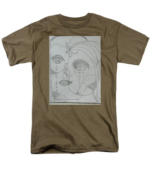 And Then They Parted Men's T-Shirt  (Regular Fit) by Sharyn Winters