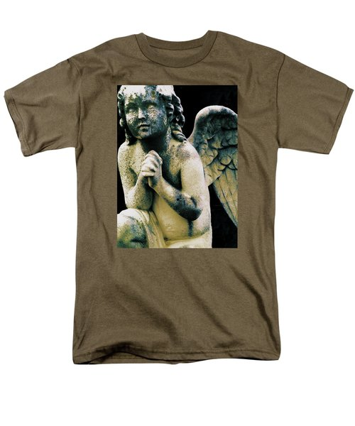 Men's T-Shirt  (Regular Fit) featuring the digital art Angel 2 by Maria Huntley