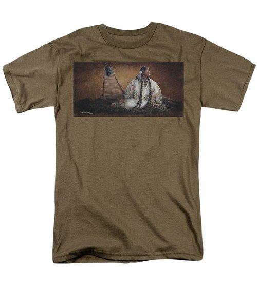 Anticipation Men's T-Shirt  (Regular Fit) by Kim Lockman