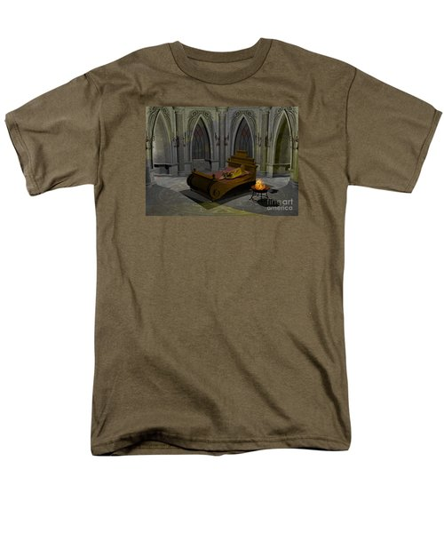 Men's T-Shirt  (Regular Fit) featuring the digital art Aphrodite by Sipo Liimatainen