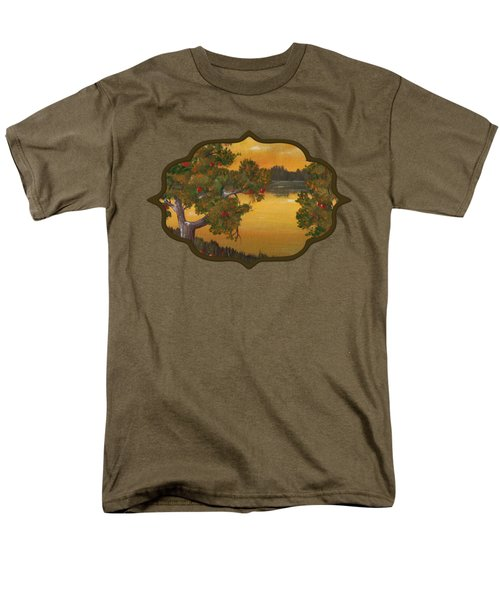Apple Sunset Men's T-Shirt  (Regular Fit) by Anastasiya Malakhova
