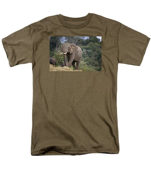 Men's T-Shirt  (Regular Fit) featuring the photograph Approaching The Waterhole by Gary Hall