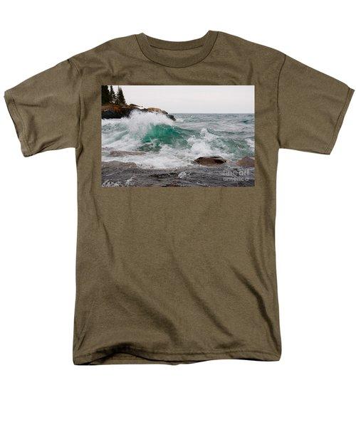 April Waves On Superior Men's T-Shirt  (Regular Fit) by Sandra Updyke