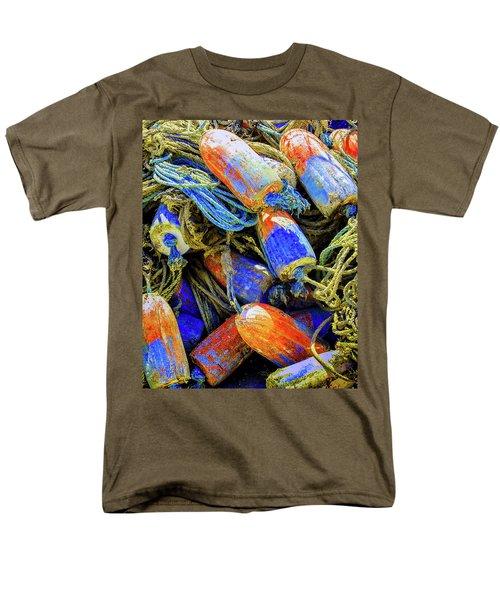 Aqua Hedionda Men's T-Shirt  (Regular Fit) by Jeffrey Jensen