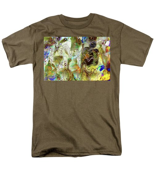 Arbitrary Color Opticality Men's T-Shirt  (Regular Fit) by Don Gradner