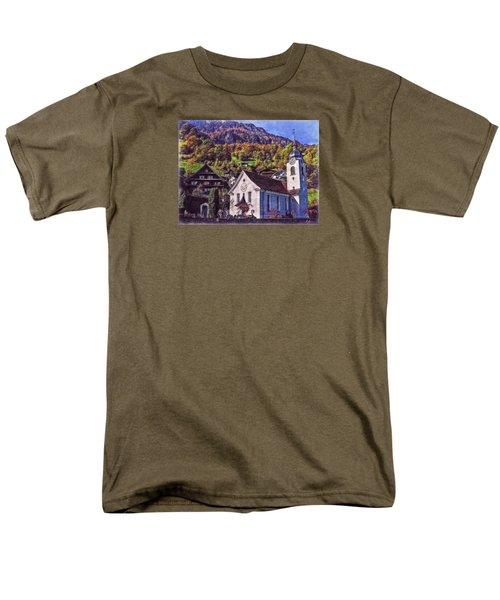 Men's T-Shirt  (Regular Fit) featuring the photograph Arcadian Hamlet by Hanny Heim