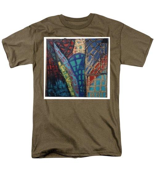 Architectuaral Bent,   Men's T-Shirt  (Regular Fit) by Darrell Black